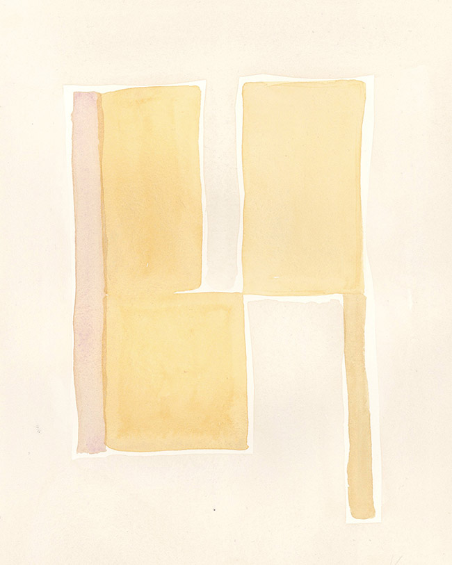 """""""CITRUS"""" - Watercolor on paper, 8"""" x 10"""""""
