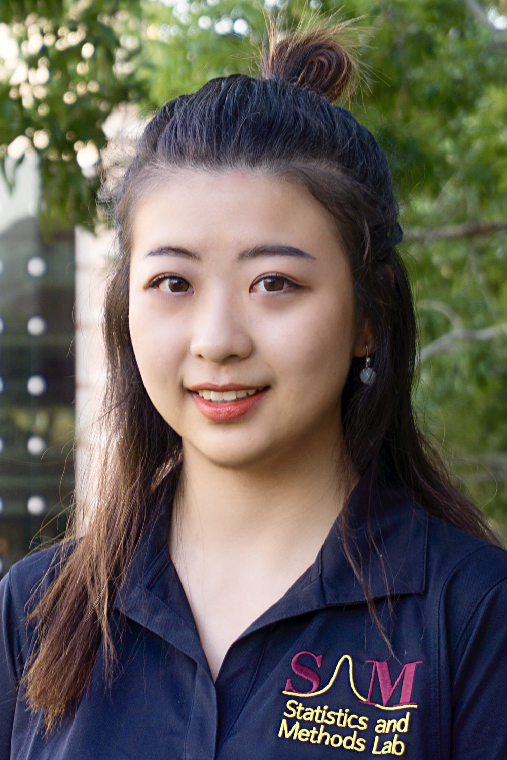 Wency Yang, B.S.   SAM Lab Consultant  Wency earned her bachelor's degree from Missouri State University in 2017, with a major in management and minors in psychology and fashion design & merchandising. She is currently in her first year of the  Master's of Science in   Psychology Program on the ASU West Campus.