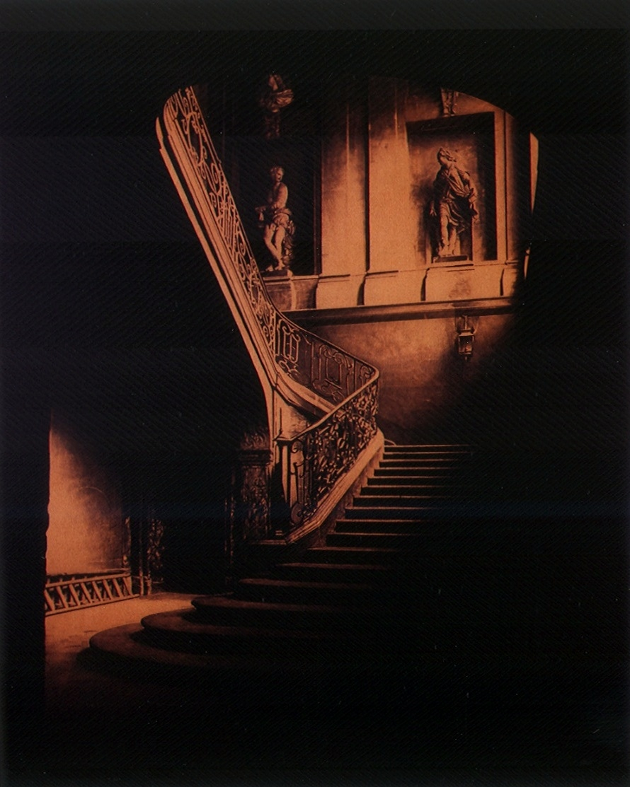 after Atget, 1898 (rue des Archives)    60x48, acrylic on canvas, 2003