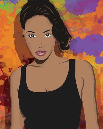 Pop Art Portrait - Mercedes