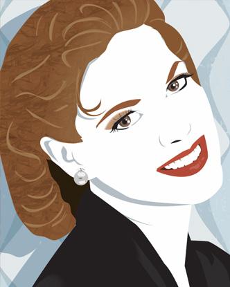 Pop Art Portrait - Karen