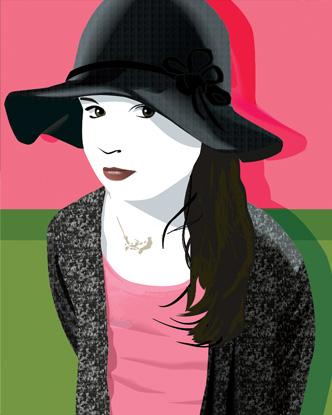 Pop Art Portrait - Rachel