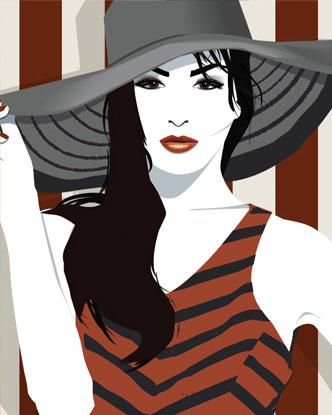 Pop Art Portrait - Jungle Girl