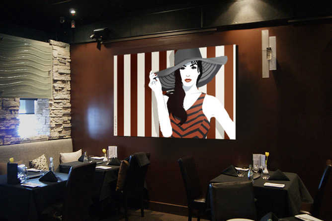 art environment - Restaurant