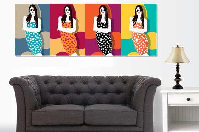 Art Environment - Warhol Women