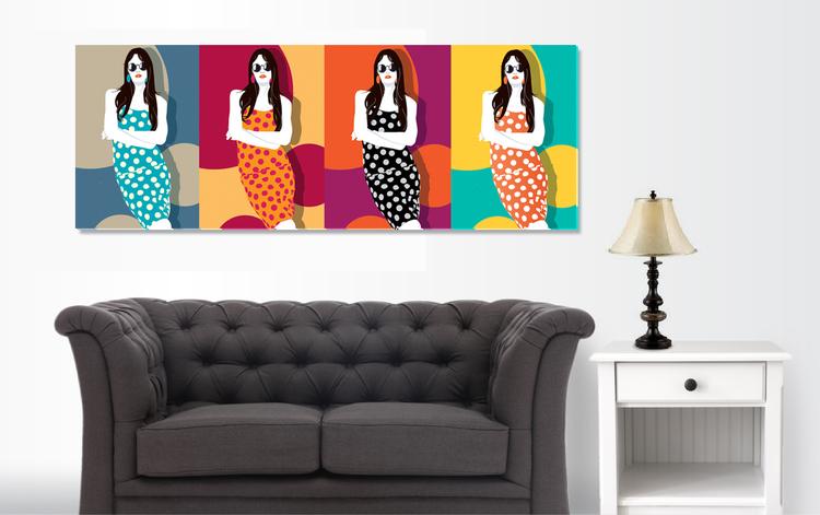 Warhol Girls Portrait - Environments