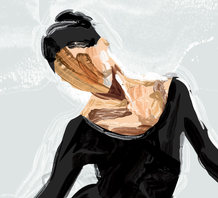 ballerina in detail.