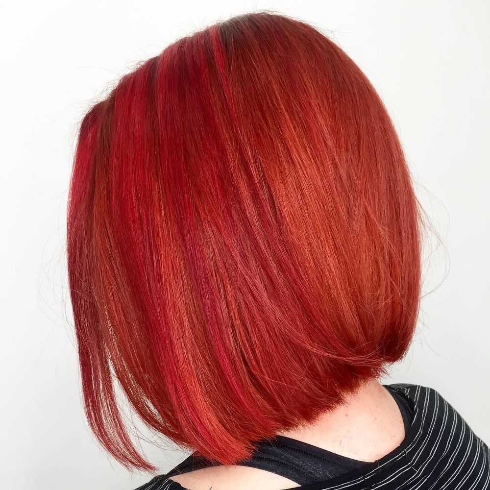 Fantasy hair: A big chop & color correction using pulp riot (after)