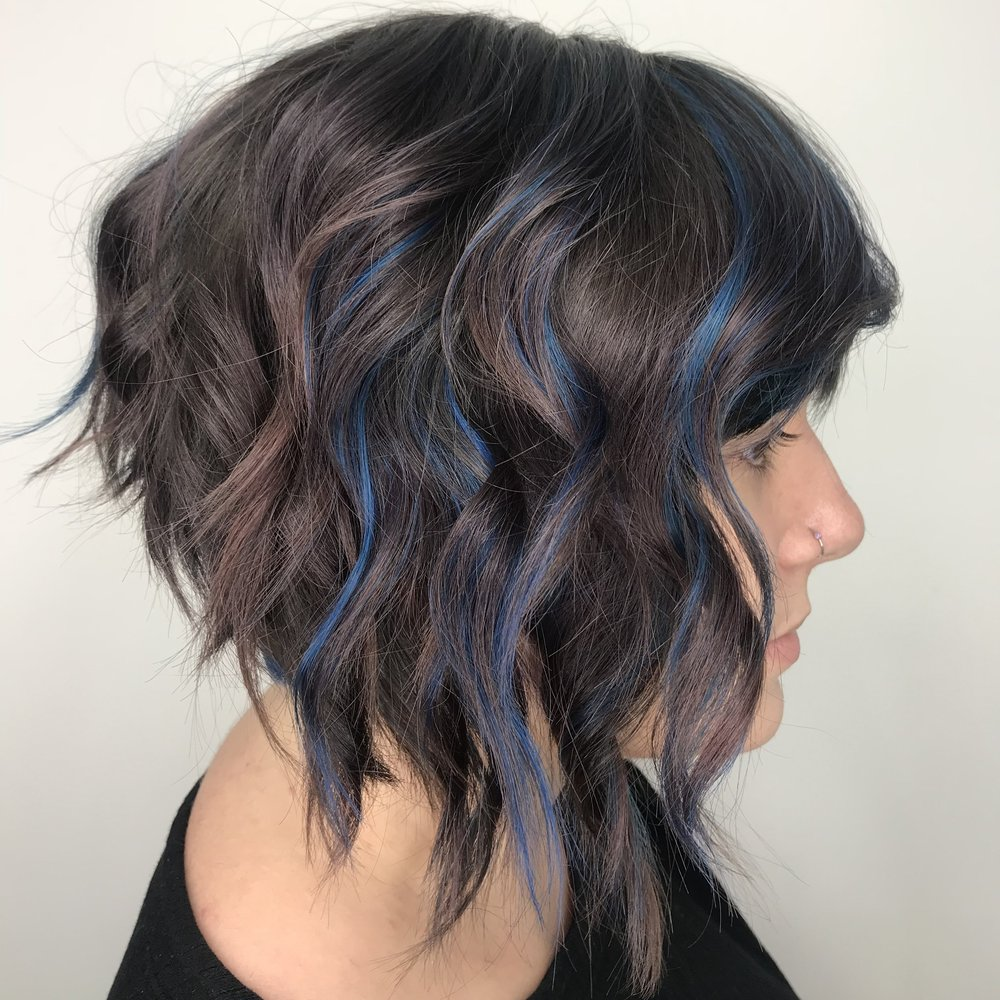 After: Fantasy color: Dusty, Cool base with pops of blue