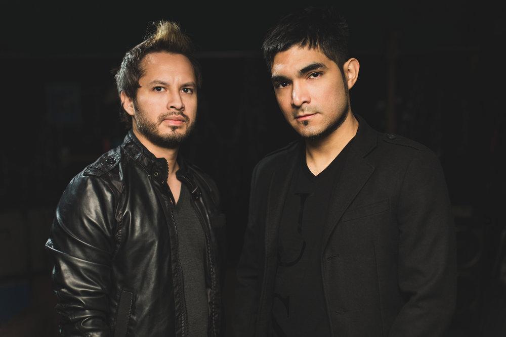 L to R Fausto Padilla & Dante Zavala