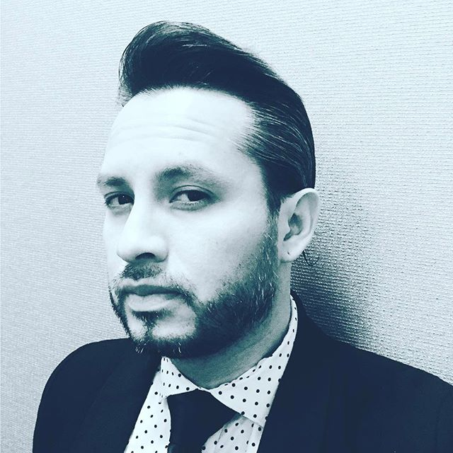@dirtytokyo doing his #resivoirdogs #impression trying to be  #dapper and #handsome for the ladies #musician #producer #fresh #look