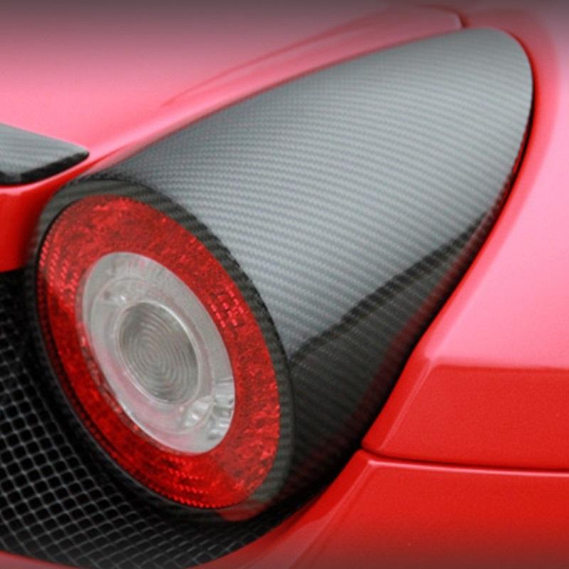 458 Carbon Fiber Tail Light Covers