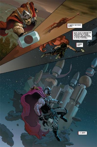 Thor: God of Thunder .  Image Source