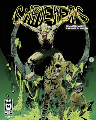 Shriekers,  issue 2