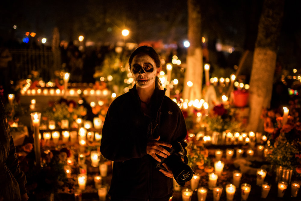 Noche de los Muertos in Tsin Tsun Tsan, México.