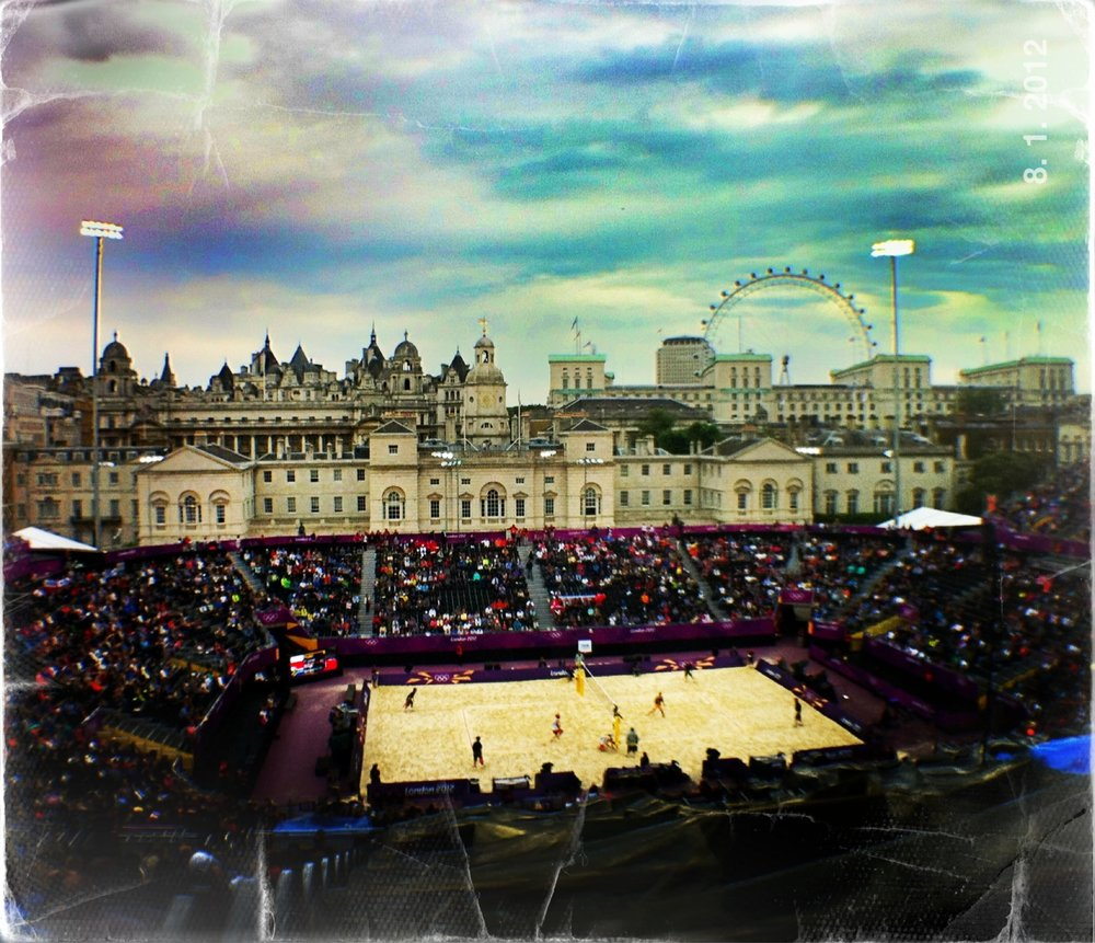 Beach volleyball at the 2012 Olympic Games.
