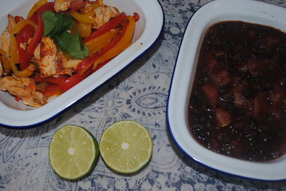 Chicken and Black Beans