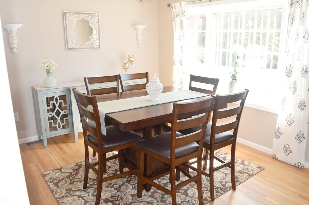 Home Staging: Dining Room