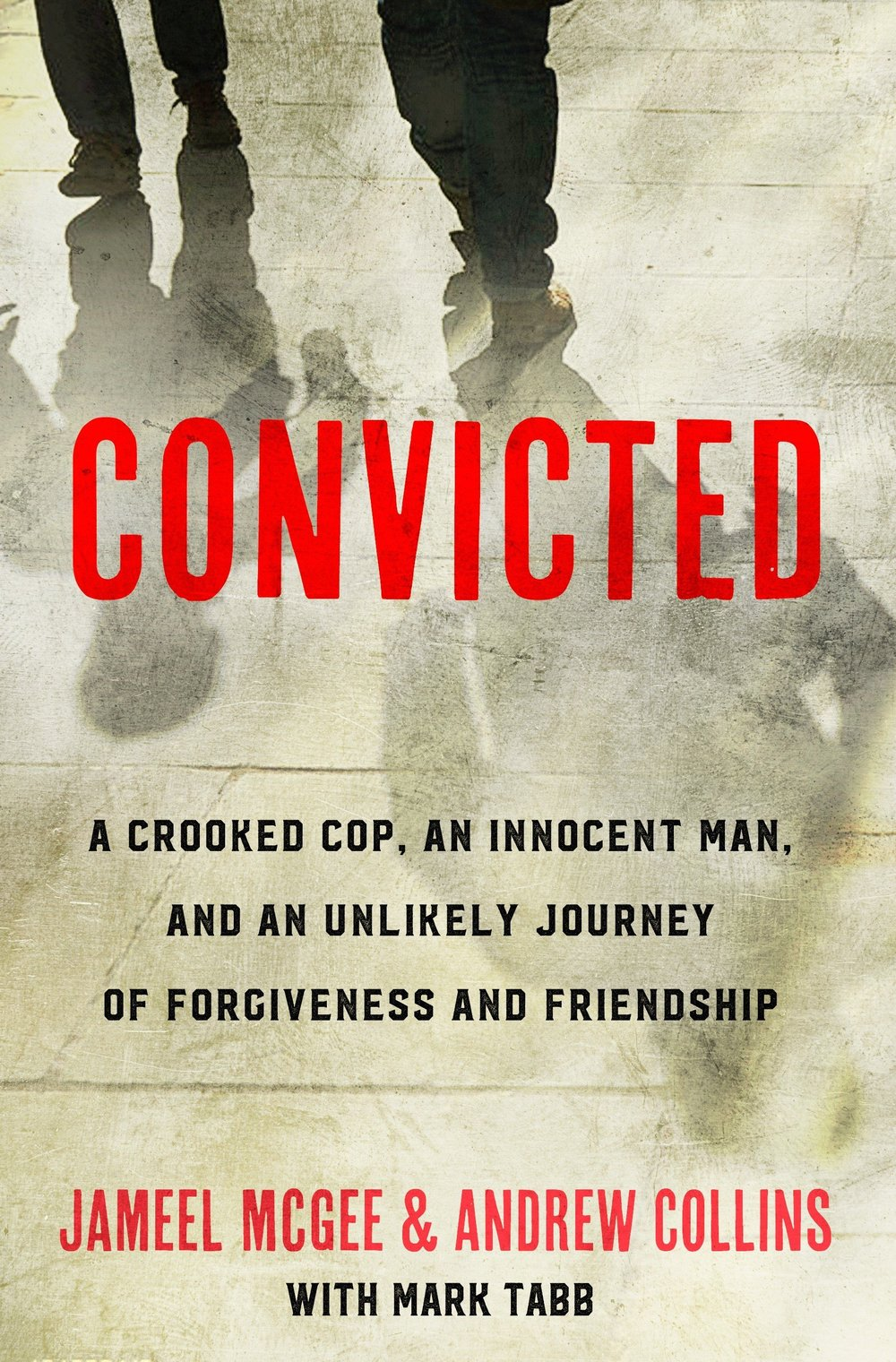 Read Their Book!  - A powerful message of hope for anyone burdened by regret and everyone who longs for a fresh start. Racial tensions had long simmered in Benton Harbor, a small city on the eastern shore of Lake Michigan, before the day a white narcotics officer--more focused on arrests than justice—set his sights on an innocent black man. But when officer Andrew Collins framed Jameel McGee for possession of crack cocaine, the surprising result was not a race riot but a transformative journey for both men.  Falsely convicted, McGee spent three years in federal prison. Collins also went to prison a few years later for falsifying police reports. While behind bars, the faith of both men deepened. But the story took its most unexpected turn once they were released--when their lives collided again in a moment brimming with mistrust and anger. The two were on a collision course—not to violence—but forgiveness.   As current as today's headlines, this explosive true story reveals how these radically conflicted men chose to let go of fear and a thirst for revenge to pursue reconciliation for themselves, their community, and our racially divided nation.