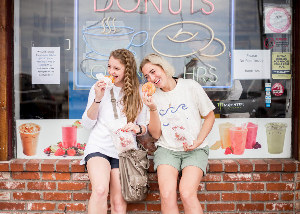 Doughnuts and Friends