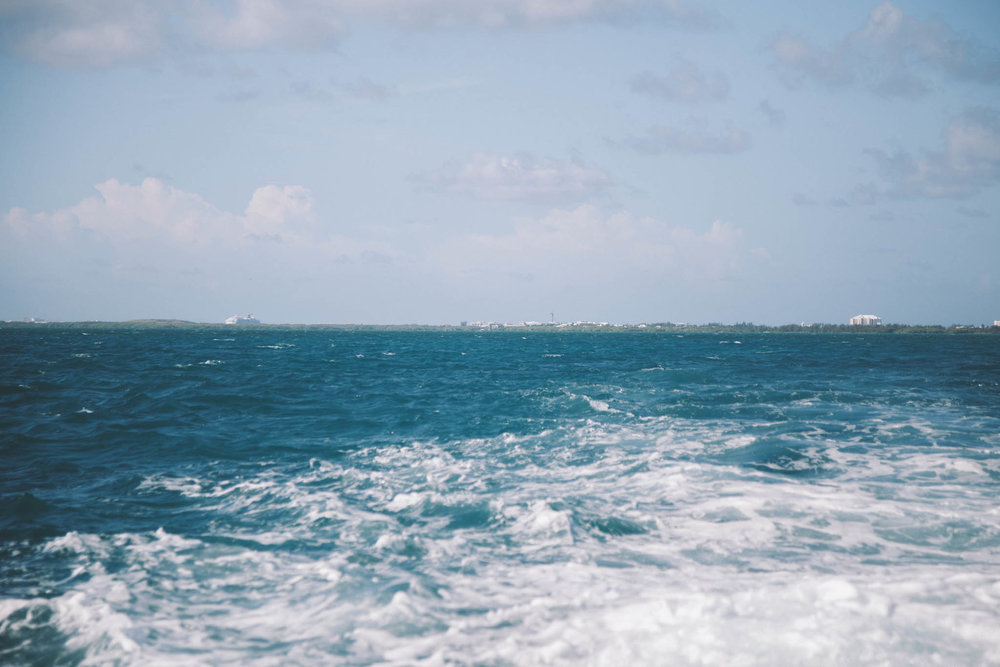 Isn't the water Beautiful?!