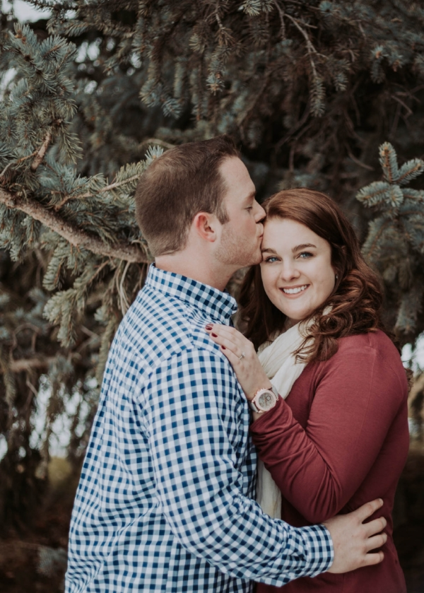 | Engagement | Utah Photography | Couple Poses | Winter Photography | Utah Engagements | Pose Ideas | Outdoor Shoot |