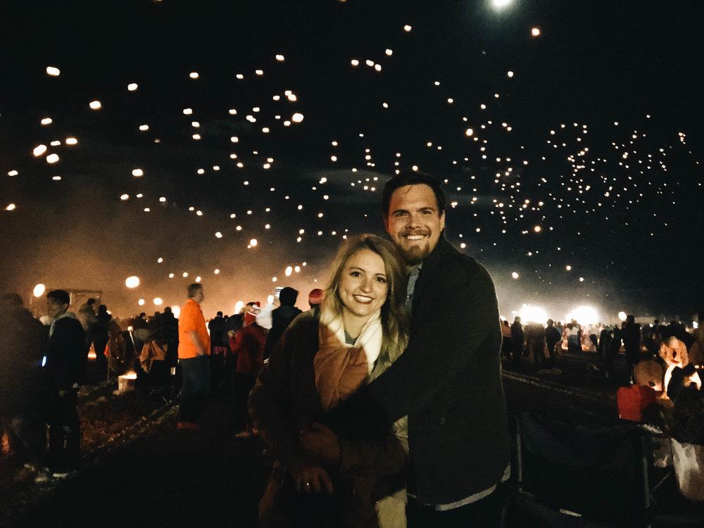 Lantern Fest | Photography | Couple | Lifestyle Photography | Couple photography | Utah Lifestyle | Lifestyle Photography Ideas | Lifestyle Photography Poses | Utah Blogger