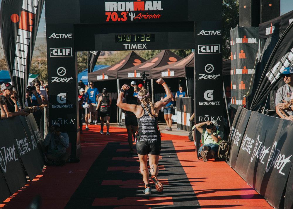 Finish - 70.3 Miles : 7:31:38