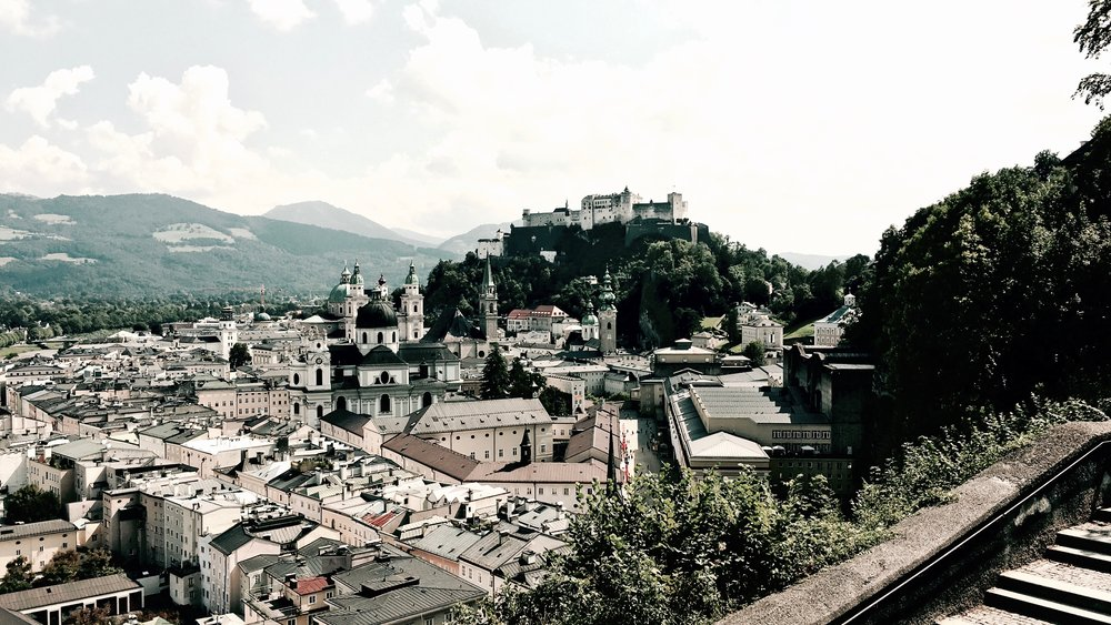 View from Museum Der Moderne, Salzburg