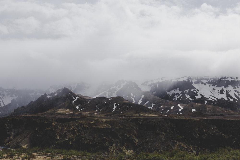 View from Valahnukur