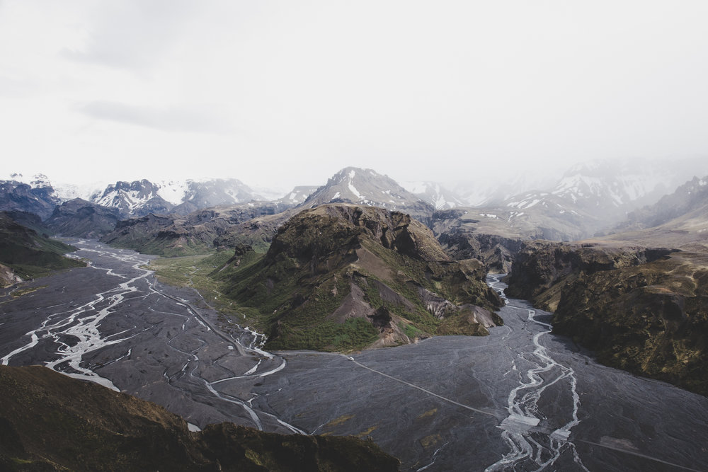 Myrdalsjokull and Goðaland