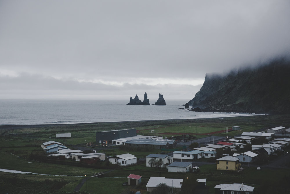 View from Vik Church