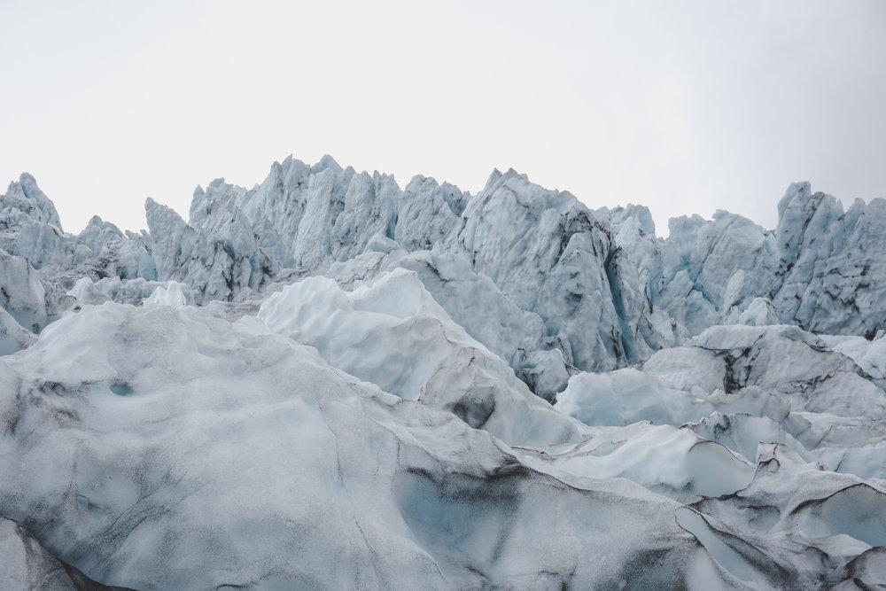 Ice formation, Virkisjökull, Vatnajoökull National Park