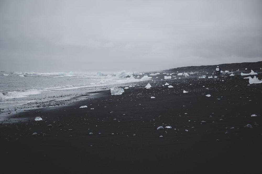 Diamond beach
