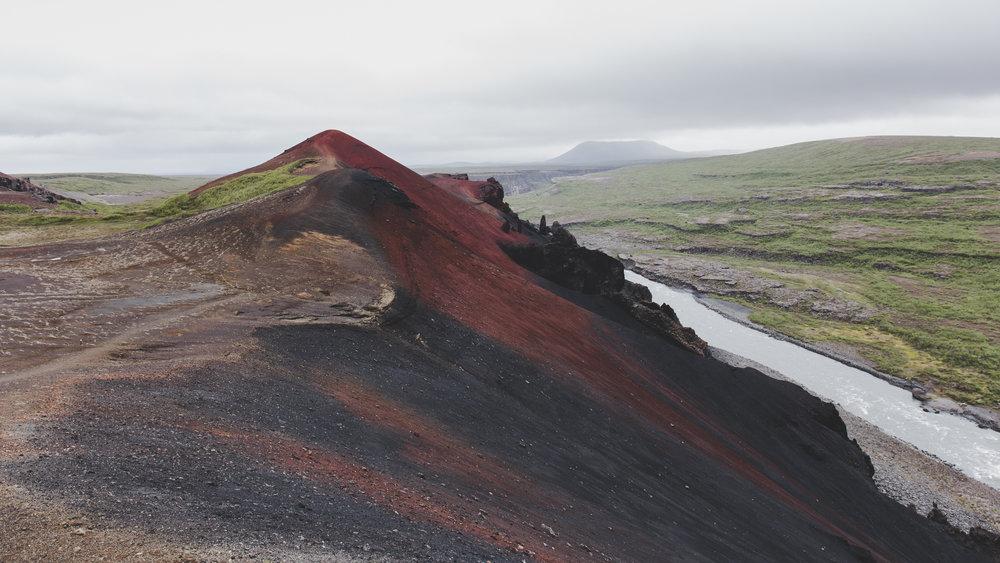 Rauðhólar, Vesturdalur