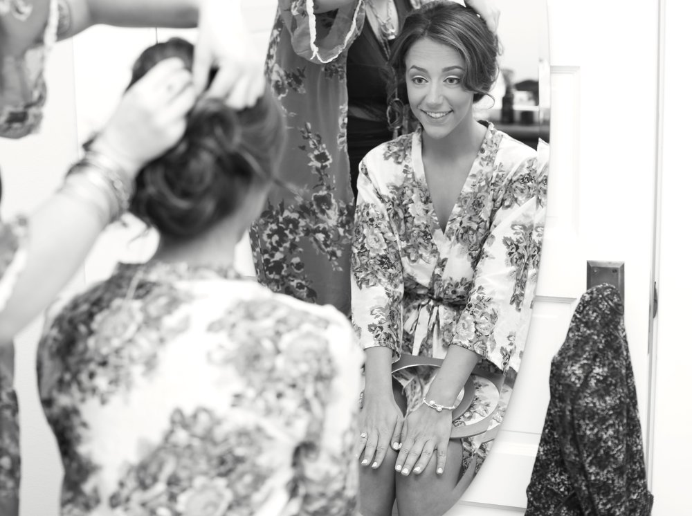 Bridal Hair Styling BTS