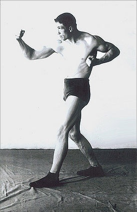 He fought The Great Great Jack Johnson in Canada in 1908. ( he did not win )