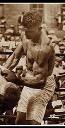 He did not fight to win the fight. He fought to hurt and destroy. he had muscles from hard work and a primordial sense of survival. Iron hard muscle fiber . Not from weights or gym work. He had strength piled on muscles from long hard hours doing strenuous work. Work where all the muscles are synchronized to work hard.