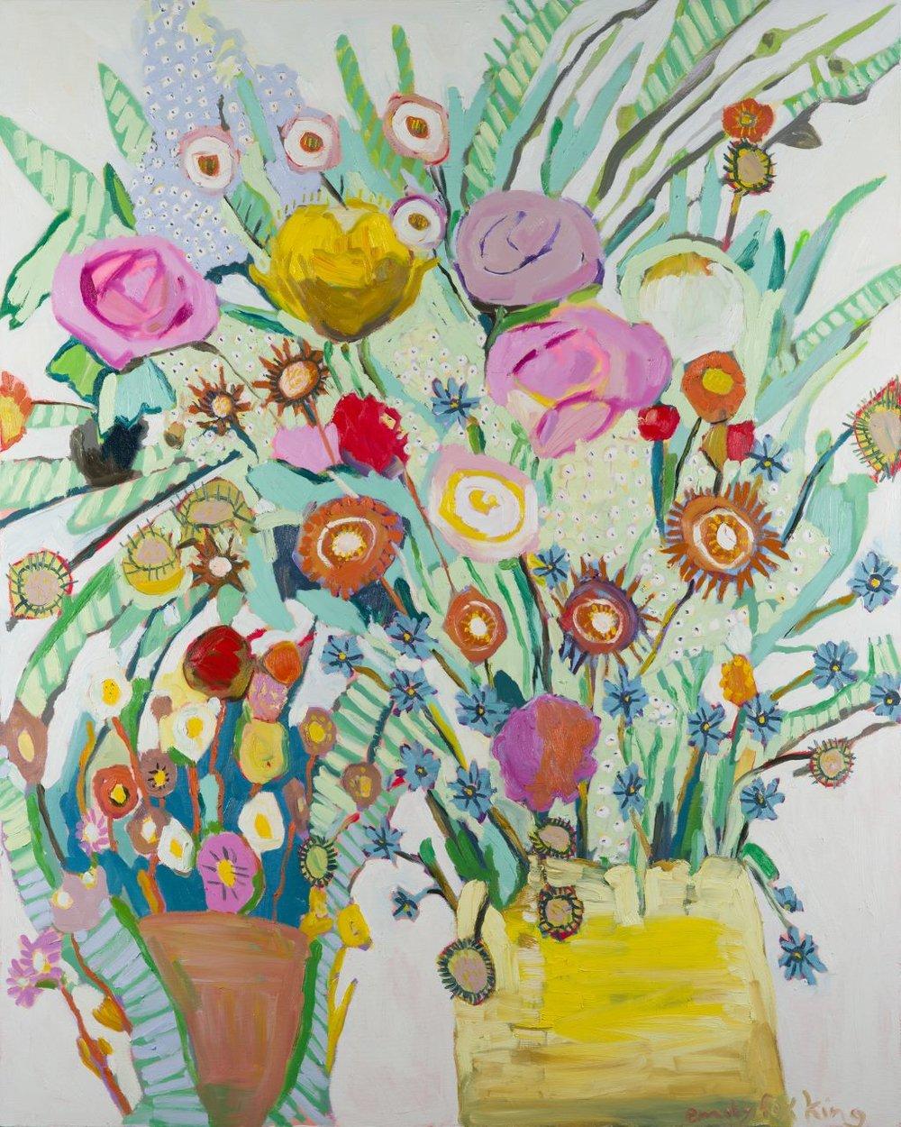 Debra , oil on canvas, 48x 60 inches