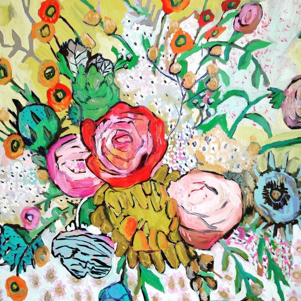 Gloria , oil on canvas, 36x 48 inches