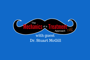 "What are we listening to  this week ?    Therapy Insiders interview with Stu McGill entitled ""the mechanics of a treatment approach with Dr. Stuart McGill""This was an interesting interview with some nice clinical pearls. Anyone who has had the opportunity to see Dr. McGill speak will certainly appreciate his humor and candor.  After a lengthy discussion on mustaches, they began to talk about competency of therapists. Dr. McGill then explains some salient points in his three hour evaluation of patients. His goals are to ""precisely define The pain triggers to that patient"" and then to ""remove them"". Pretty simple but effective. We think the keyword here is ""precisely"".He then talks about utilizing your clinical knowledge based in the powers of observation.   His assessment begins with a patient interview to determine The character of the patients pain. He's very careful to listen to ""exactly"" what the triggers and really are for a patient's pain. He then goes on to offer some nice clinical diagnostics pearls that we will leave for you to listen to the podcast to glean.  He then again emphasizes observing the patients movement and movement habits to establish their stability/mobility continuum. His examination consists of three parts: provocative motions, neural tests, and tissue specific tests. He looks for provocative motions postures and loads.  Once the pain should use identified, he then seeks to find positions postures or movements which will alleviate it. He then does neural tests, looking for things like neural or root tension. Finally he discusses some tissue specific diagnoses.  There's an interesting discussion on pain and pain science. Dr. McGill emphasizes that people need to avoid the movement which causes pain not moving in general. He then goes on to talk about Central sensitization and how, if you can teach people to not invoke their ""pain trigger"" motion, that they will actually improve and central sensitization will decrease. in other words, don't move ""through"" pain but find ways to work around the trigger.  There's been a series of ""Twitter"" questions that are answered with an interesting discussion on Core stability and superimposed axial movement. All in all a informative interview with some clinical pearls.   you can give it  listen here:    http://updocmedia.com/mediacast/the-mechanics-of-a-treatment-approach-w-dr-stuart-mcgill/"