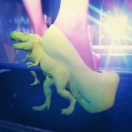 Hey Guys   Check out these groovy shoes! We wonder if they are carnivorous!   Have a great weekend    Ivo and Shawn