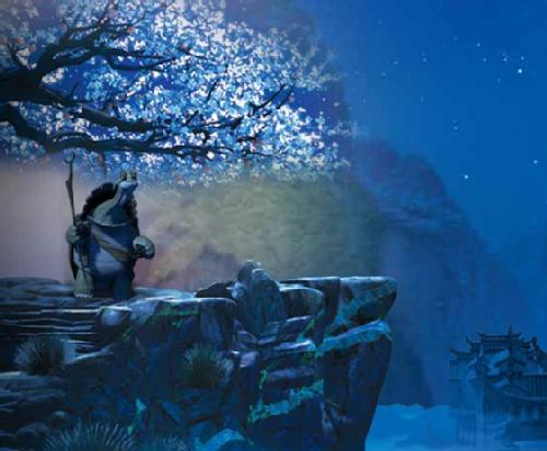 """…yesterday is history, tomorrow is a mystery, but today is a gift. That is why it is called the ""present."" Master Oogway: Kung Fu Panda (2008)"