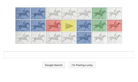"You have seen the artwork of British Photographer  Eadward Muybridge  in some of our videos and online education programs (with credit). Here is a Google Doodle based on ""The Horse in Motion"" you may enjoy. Click on the picture to follow the link.   The Gait Guys     Have a great day!"
