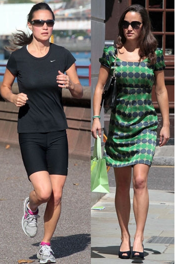 Oh Pippa ! For God's sake (or at least the Queen's) start using your gluteus medius for crying out loud !  That opposite  hip drop isn't winning Dr. Allen over.  !   (internal tibial torsion, knees approximating (due to the lack of left g. medius use, high ramp angle shoe……..mon dieu !…….  great  dress, bad shoe though ! )   Gluteus medius avoidance and blood pudding, apparently it's what's for brunch these days !   The Gait Guys