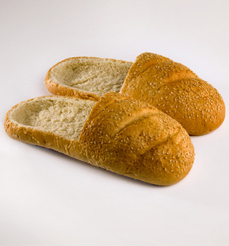 "Even though it isn't winter, we could resist showing you these ""toasty"" slippers…   Have a fun Friday,   Ivo and Shawn"