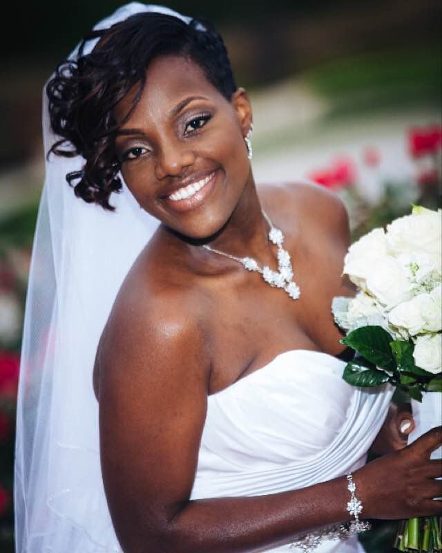 Tanesha Latrese  Beauty by Tanesha  Bridal Makeup  natural bride  baltimore bridal makeup artist  maryland makeup artist  anne arundel county makeup artist