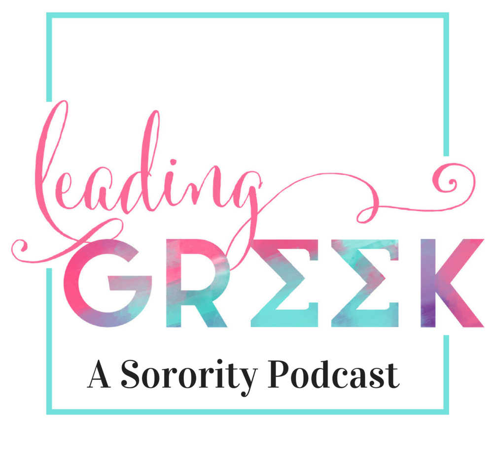Listen Now - For Leading Greek on the go, check out Leading Greek: A Sorority Podcast!  We're talking tips, resources, advice, support and how to make the most of your lifelong sorority membership. Hear from me and guest experts on how we can elevate the sorority experience together. Subscribe to the podcast on iTunes, Stitcher, or wherever you get your podcasts.