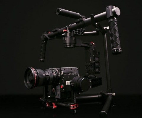 DJI RONIN - A generational leap in camera stabilization technology. Its custom sensors, powerful motors and advanced algorithms ensure cinematic caliber stabilization.
