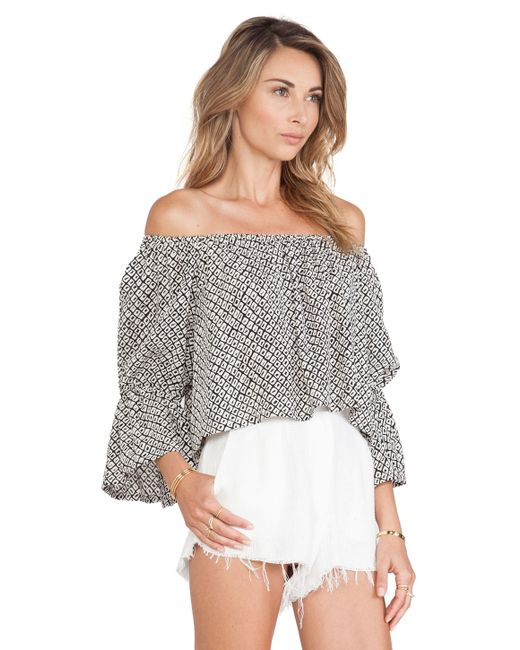 Stone Cold Fox Idaho Blouse